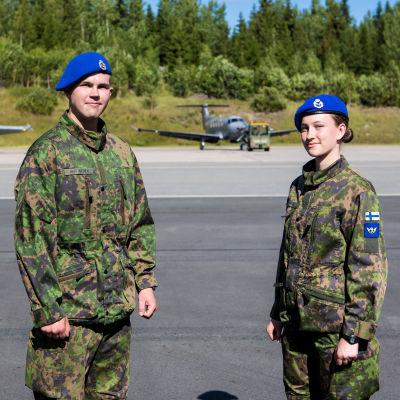 Alokkaat Pyry Hartikainen ja Nuppu Häyhtiö.