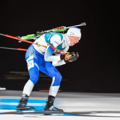 Tero Seppälä olympialaisten pikamatkalla.