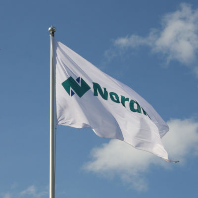 Nordkalks flagga.