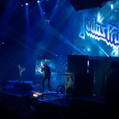 Judas Priest i Ishallen.