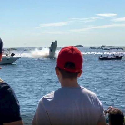 Båtolycka på Poker run i Hangö 2020.