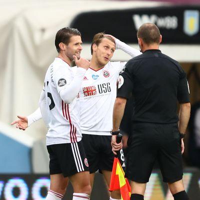 Sheffield United menetti päivänselvän maalin