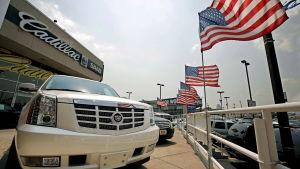 Bilförsäljningen ökade i december 2013 och till exempel Cadillac ökade sin försäljning med 48 procent,