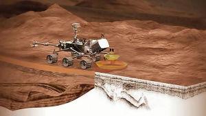Mars 2020-rovern (illustration)