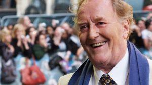 Skådespelaren Robert Hardy anländer till den europeiska premiären av filmen Harry Potter och Fenixorden den 3 juli 2007 på Leicester Square i London.