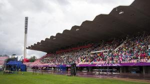Utlysning av skolfreden på Ratina Stadion i Tammerfors
