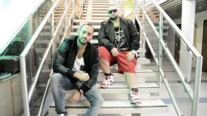 Sami och Ali i Medina ska snart ta över Europa. Hoppas vi.