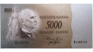 5000 markan seteli