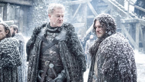 Game of Thrones: Ser Allister och Jon Snow.