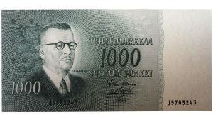 1000 markan seteli