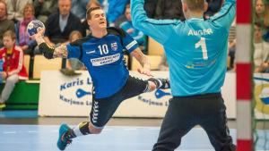 Nico Rönnberg var besviken på lördagens resultat.