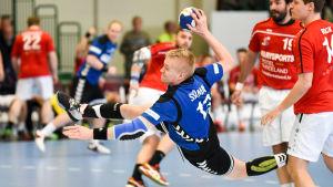 Robin Sjömans Finland gick vidare till EM-kvalet.