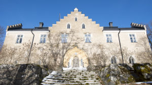 Svidja slott, baksidan av slottet.