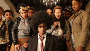 Pressbild för tv-serie Dear white people