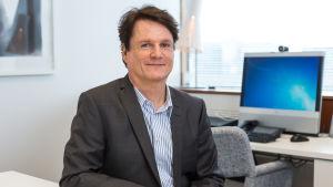 Mika Wilén är marknadsförings- och kommunikationschef vid rekryteringsföretaget Manpowergroup.