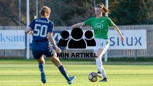 EIF- damernas match mot FC Espoo.