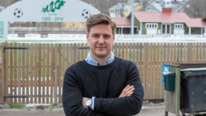 Porträttbild på Simon Eklund.