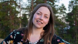 porträtt på bloggaren Jennifer Sandström.