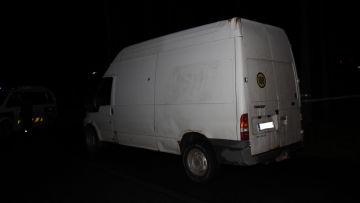 Polisen vill ha upplysningar om den här bilen av märket Ford Transit. Bilen har rört sig mellan Joutsa och Kuortti torsdagen den 18 oktober.