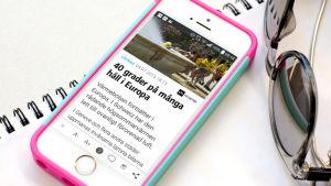 Nyhetskollen - Yles unika nyhetsapplikation
