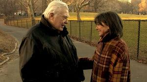 Joe Sarno ja vaimonsa Peggy Steffans New Yorkin Central Parkissa