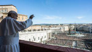 Påven talar på juldagen i Rom