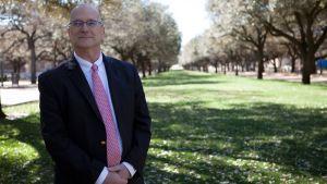 Energiexperten Bruce Bullock i Dallas, Texas.