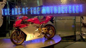 Guggenheim i hotellet Venetian i Las Vegas visade bland annat en utställning om motorcykeldesign.