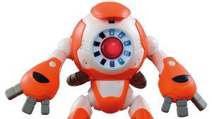 En uppkopplad robot.