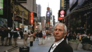 Robert Durst vid Times Square i New York