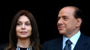 Veronica Lario och Silvio Berlusconi