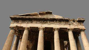 akropolis i aten, grekland