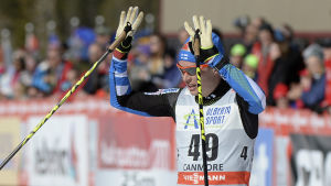 Matti Heikkinen slog till och vann en deltävling i Kanadatouren.