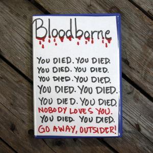 Kontrollers omslag till Bloodborne