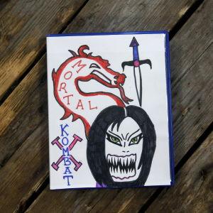 Susanne ritade omslaget.