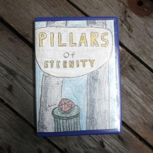 Kontrollers omslag till Pillars of Eternity
