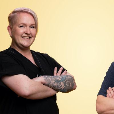 Jenni Lehtola och Emil Dahlqvist