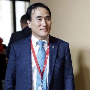 Interpols nya ordförande Kim Jong-yang