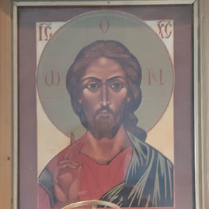 Jeesusta kuvaava ikoni