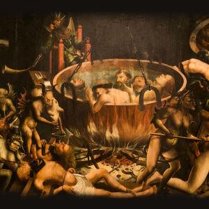 Tuntemattoman maalarin teos: Inferno