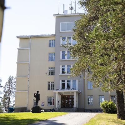 Tarinan vastaanottokeskus Siilinjärvellä Pohjois-Savossa.