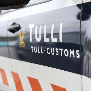 Tullens logo på en bil.