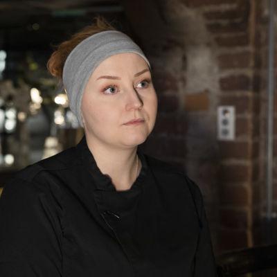 Kuopiolaisen ravintola Hurman keittiön esimies Marika Noponen.