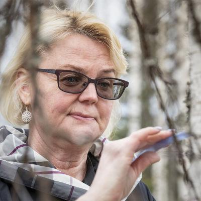 Susanna Maaranen mahlankeruukoivikossa.