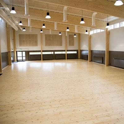 Rientolan sali Vieremällä Pohjois-Savossa