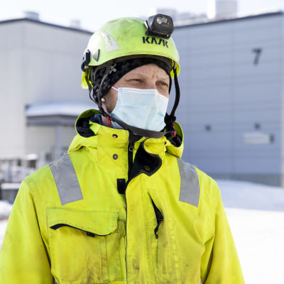 Perussuomalaisten Pohjois-Savon piirin puheenjohtaja Henri Uljonen.