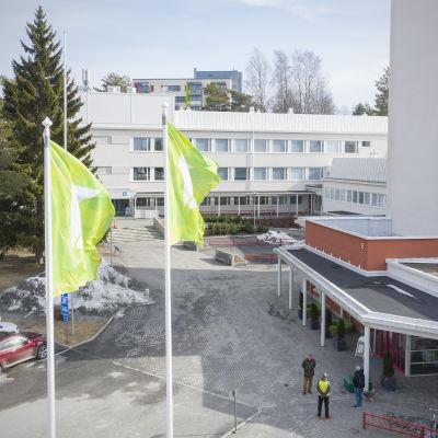 Karelia AMK:n Tikkarinteen toimipiste.