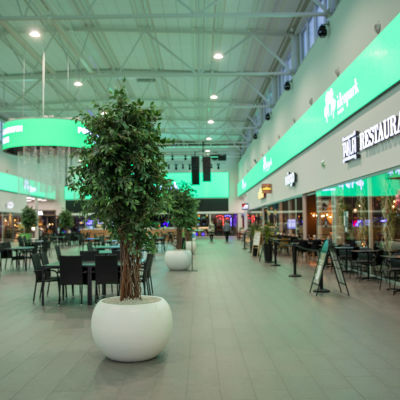 Seinäjoen Ideaparkin ravintolakatu