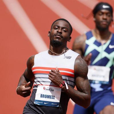 Trayvon Bromell juoksee