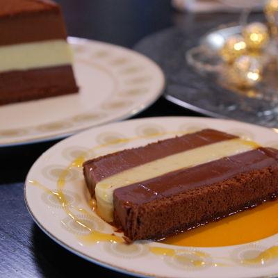 En portion chokladterrin
